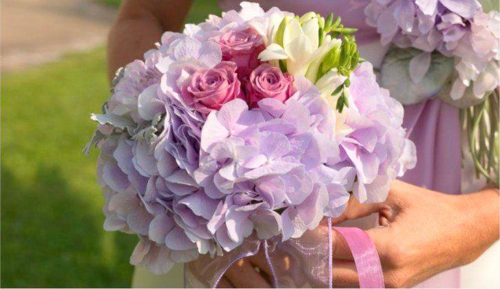Bouquet Ortensie E Rose : Bouquet da sposa composizioni floreali di giuseppina comoli
