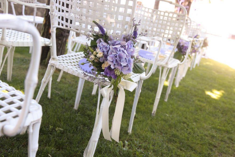 Decorazioni floreali per matrimonio civile giuseppina for Allestimento giardino