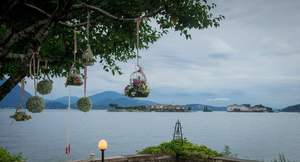 Floral Decorations For Civil Weddings On Lake Maggiore Italy