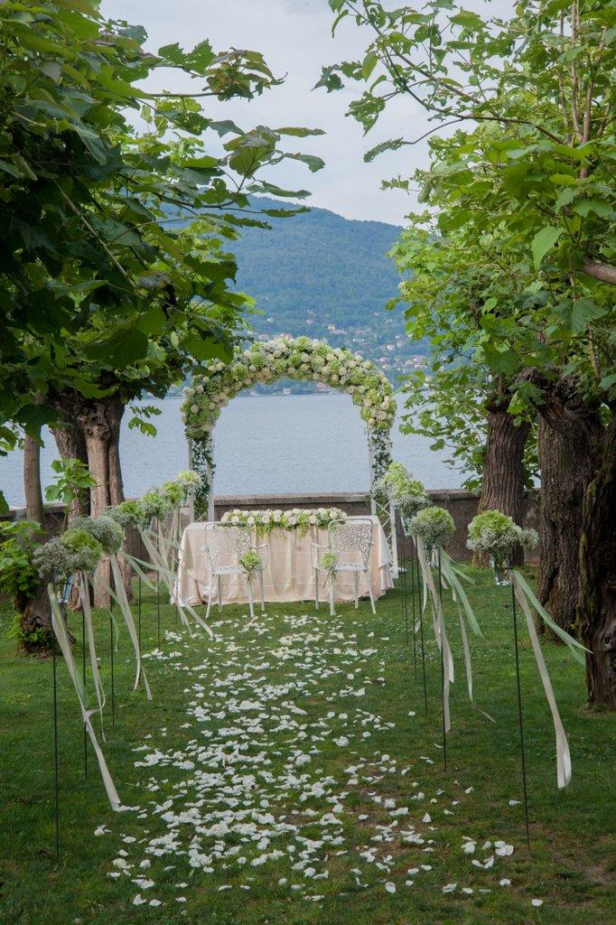 Ben noto Decorazioni floreali per matrimonio civile – Giuseppina Comoli  VG07