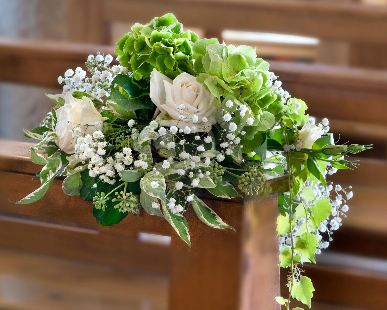 Popolare Fiorista per matrimonio in chiesa sul Lago Maggiore OY21