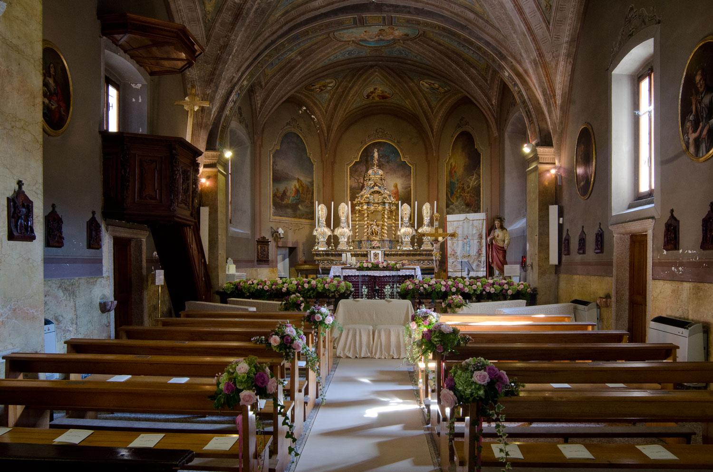 Matrimonio In Chiesa : Fiorista per matrimonio in chiesa sul lago maggiore