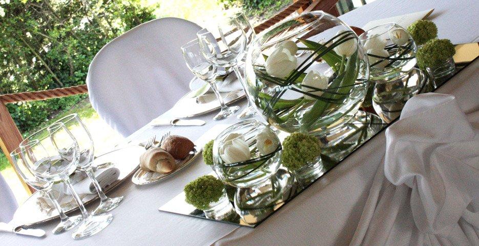 Favori Centrotavola per matrimoni: addobbi floreali per ricevimenti di  FZ31