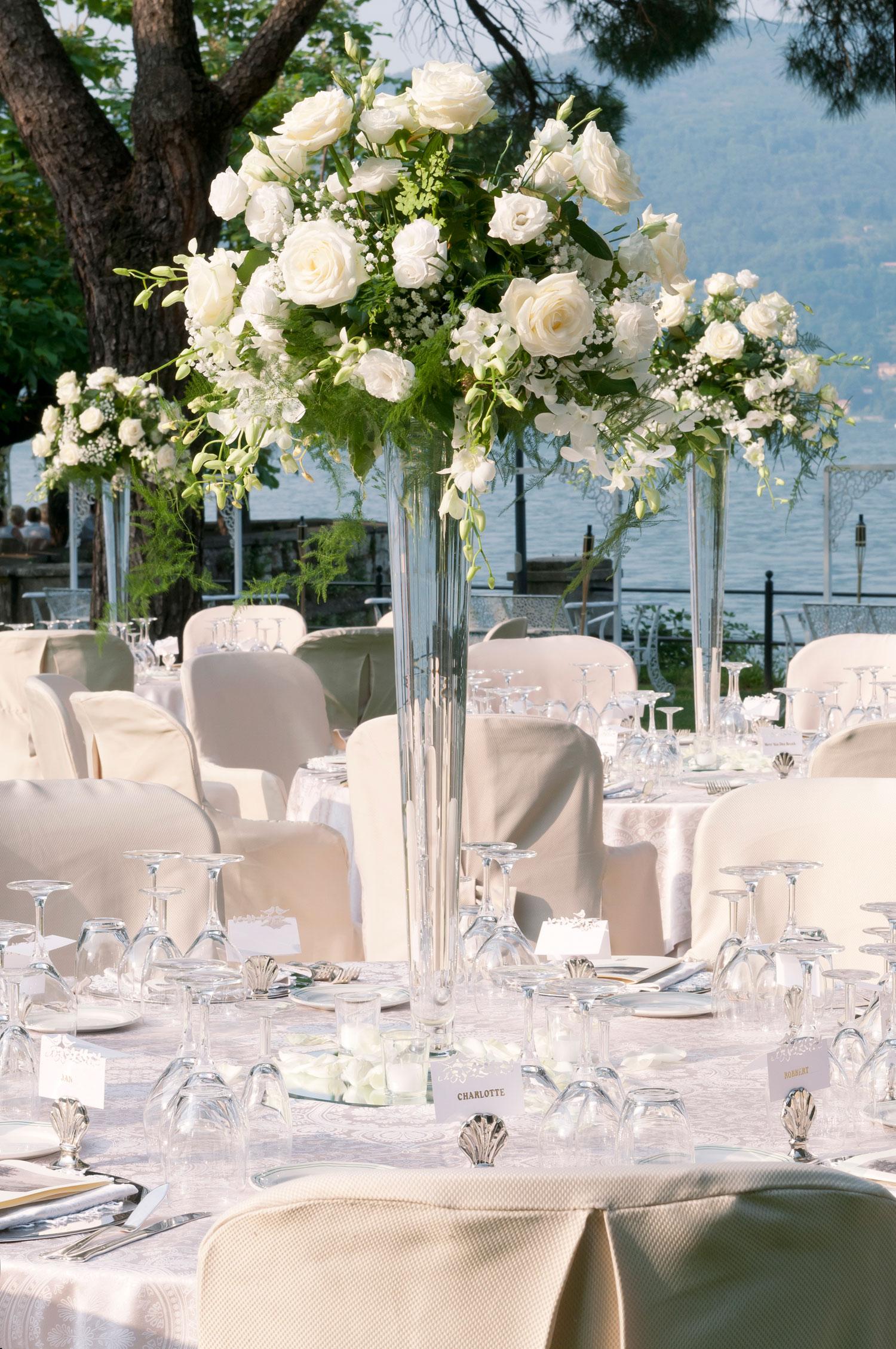 Amato Centrotavola per matrimoni: addobbi floreali per ricevimenti di  AK51