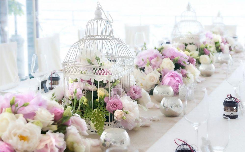 Centrotavola per matrimoni addobbi floreali per ricevimenti di