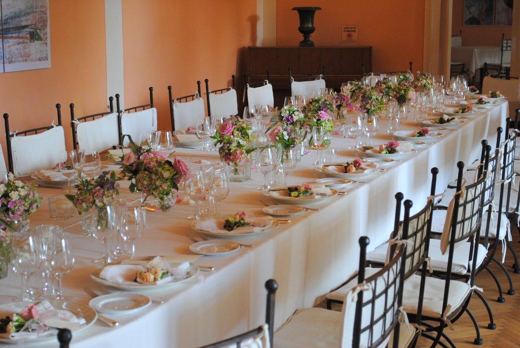 Tema Matrimonio Azzurro Polvere : Centrotavola per matrimoni addobbi floreali